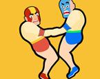 2 Kişilik Zıplayan Güreşçiler