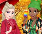 Disney Karakterleri İle Sonbahar Alışverişi