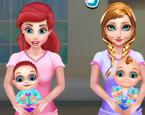 Ariel ve Anna Doğum Yapıyor