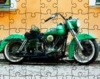 Antika Motosiklet Yapbozu