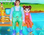 Baba Kız Balık Tutma Günü
