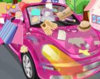 Barbie Araba Yıkama