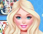 Barbie Makyaj Yapma ve Giydirme