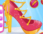 Barbienin Prenses Ayakkabı Tasarımı