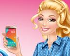 Barbienin Yeni Akıllı Telefonu