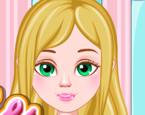 Bebek Barbie Saç Stili