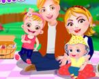 Bebek Hazel Aile Pikniği