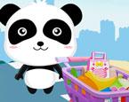 Bebek Panda Market Alışverişi
