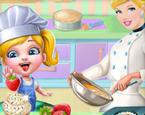 Bebek Sindirella Mutfakta