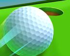 Bilardo Masasında Golf