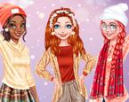 Prensesler Buz Pateni Eğlencesi