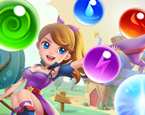 Cadı Kız Balon Patlatma