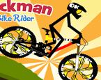 Çöp Adam Bisiklet Sürme