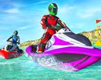 Denizde Jet Ski Yarışı