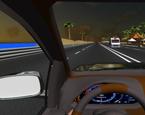 Direksiyonlu Gece Araba Sürme