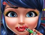 Benekli Kız Dudak Botoksu