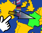 Dünya Haritası Ülkeleri Bul