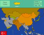 Dünya Haritasına Ülkeleri Yerleştir