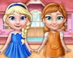 Ellie ve Annie Oyuncak Bebekler