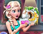 Elsa Bulaşık Yıkıyor