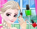 Elsanın Manikür Ve Pedikürü