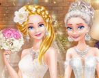 Elsa ve Anna Düğün Hazırlığı