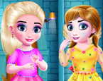 Elsa ve Anna Kayıp Eşya Bulma