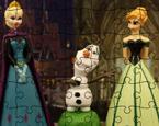 Elsa ve Anna Yapbozu