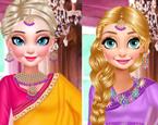 Elsa ve Anna İndiana Modası