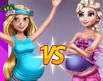 Elsa ve Rapunzel Hamile Modası