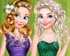 Elsa ve Rapunzel Yılbaşı Partisi