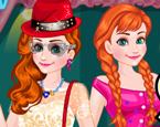 Elsa ve Anna Snapchat