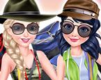 Elsa ve Ladybug Trekking