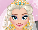 Elsa Gelinlik Giydirme