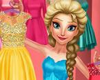 Prenses Elsa Giydirme