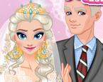 Elsa Düğün Hazırlığı