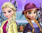 Elsa Ve Anna Oyunları