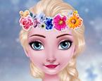 Elsa Taç Kutlama Hazırlığı