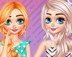 Elsa Ve Anna Moda Yarışmasında