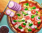Gerçek Hayatta Pizza Pişirme