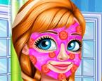 Güzel Kız Yüz Bakımı