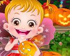 Hazel Bebek Cadılar Bayramı Hazırlığı