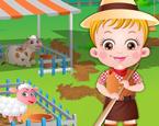 Hazel Bebek Çiftlikte