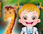 Hazel Bebek Hayvanları Öğreniyor
