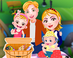 Hazel Bebek ve Ailesi Piknikte