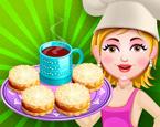 Hazel Bebek ve Annesi Pasta Yapma