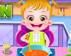 Hazel Yemek Yapıyor