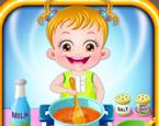 Baby Hazel In the Kitchen