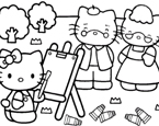 Hello Kitty Boyama Kitabı