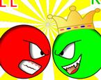 Kırmızı Ve Yeşil Top